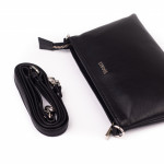Dámska kabelka kožená SEGALI A1 čierna
